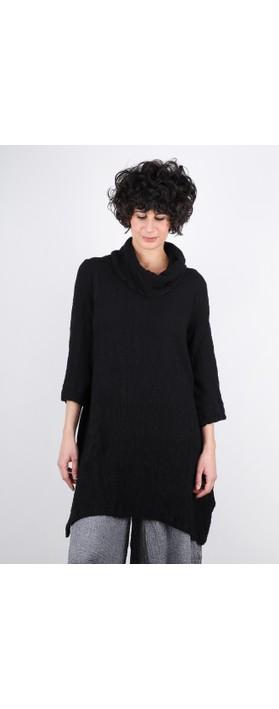 Grizas Marua Tunic Dress With Snood Black