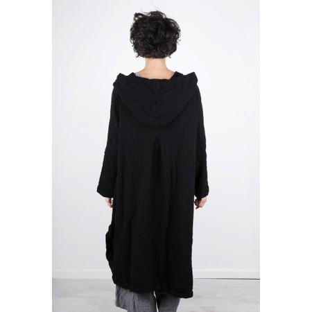 Grizas Tatjana Oversized Casual Long Coatigan - Black