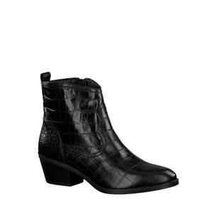 Tamaris  West Croc Print Leather Gaucho Boot