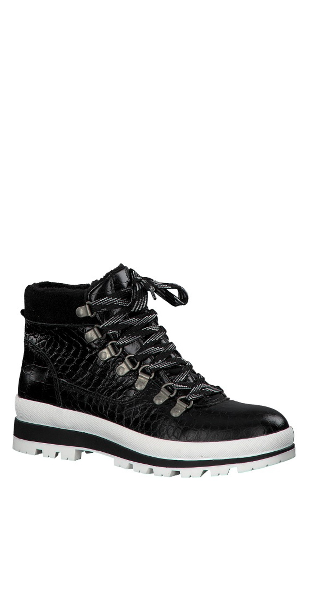 Colonia Croc Leather Hiker Boot  main image