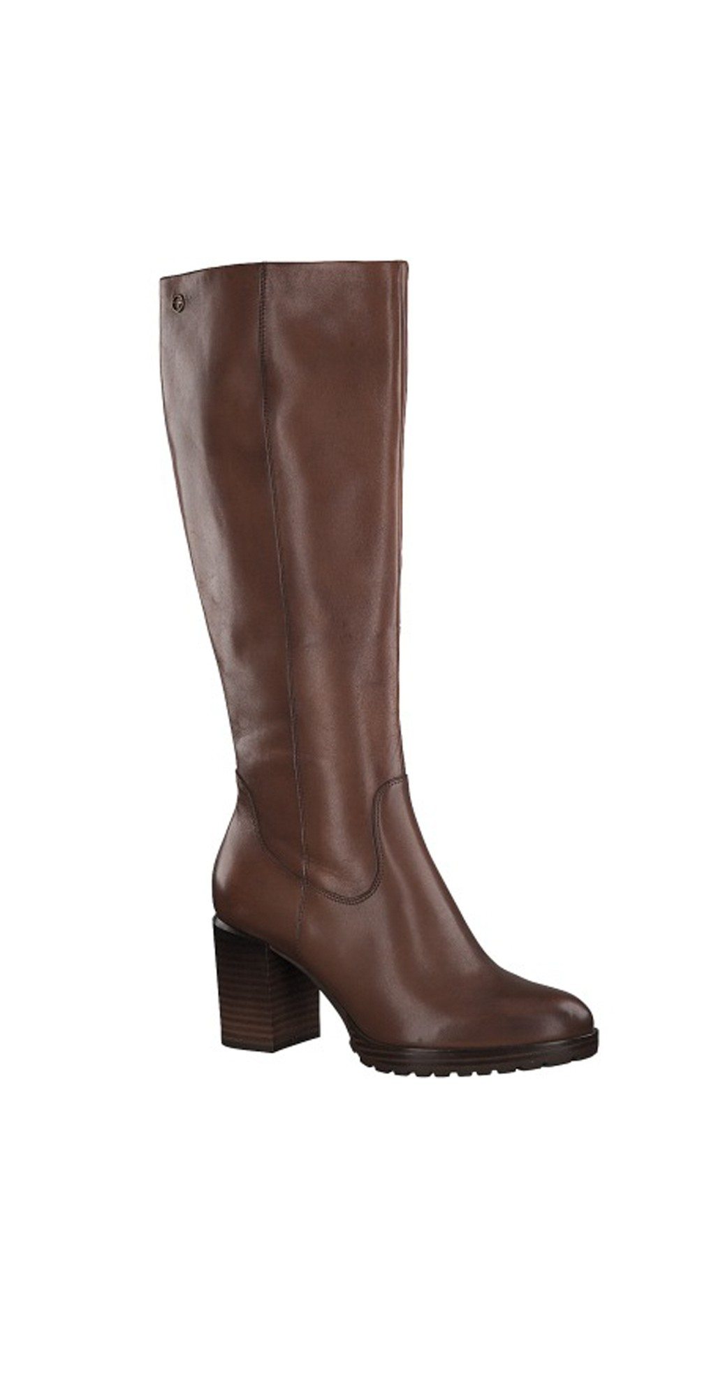 Hibiscus Heeled Long Boot main image