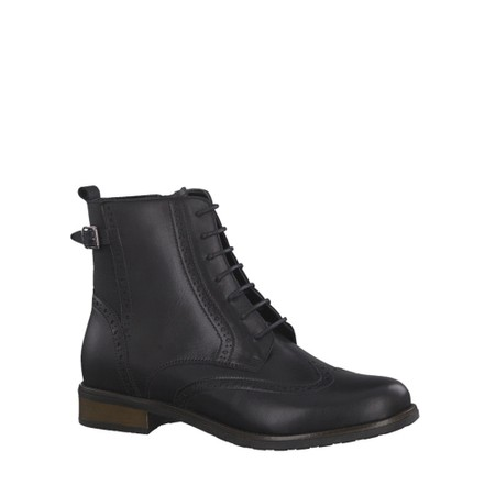 Tamaris  Cairo Brogue Nancy Boot  - Black