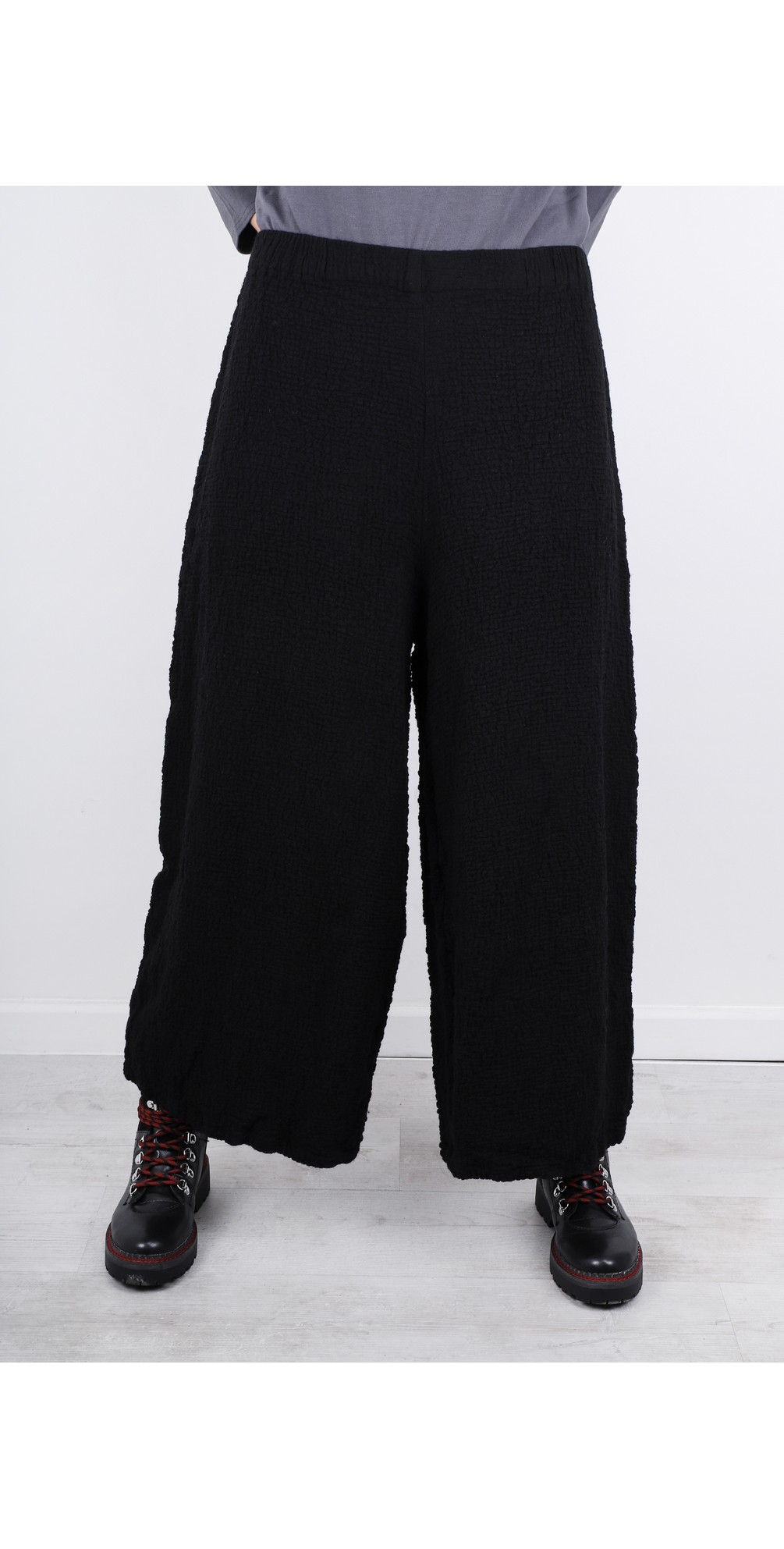 Niki Wide Leg Wool Trouser  main image