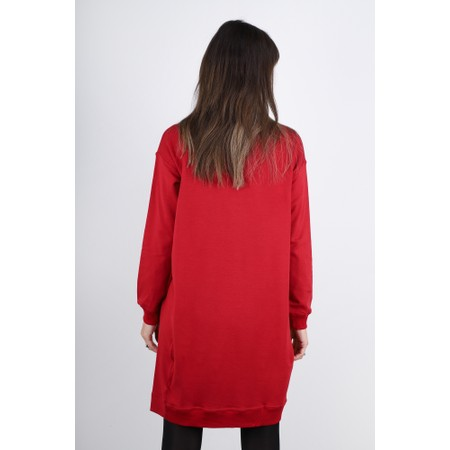 Masai Clothing Grizelda Tunic - Red