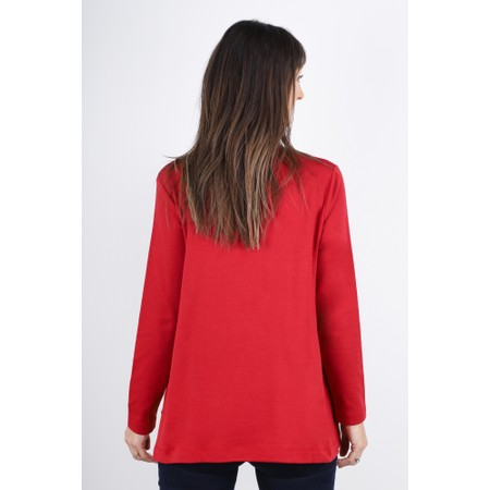 Masai Clothing Blosna Top - Red