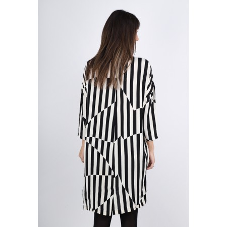 Masai Clothing Nitassa Stripe Dress - Black