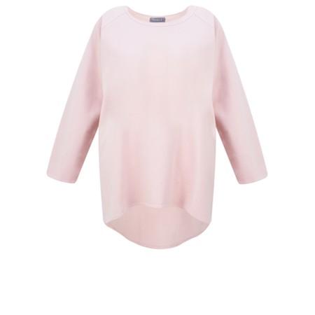 Chalk Robyn Plain Jersey Top - Pink