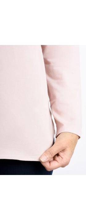 Chalk Robyn Plain Jersey Top Pink