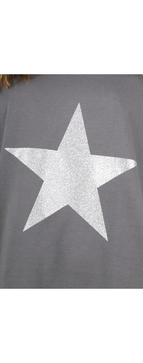 Chalk Tasha Star Top Charcoal / Silver