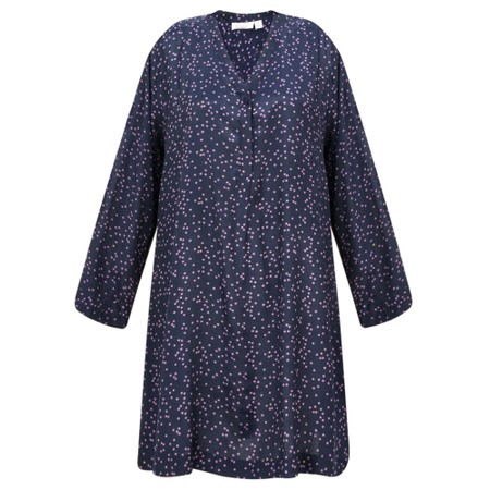 Masai Clothing Glenva Spot Tunic - Purple