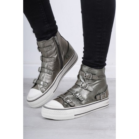 Ash Virgin Moonstone Buckle Trainers - Grey