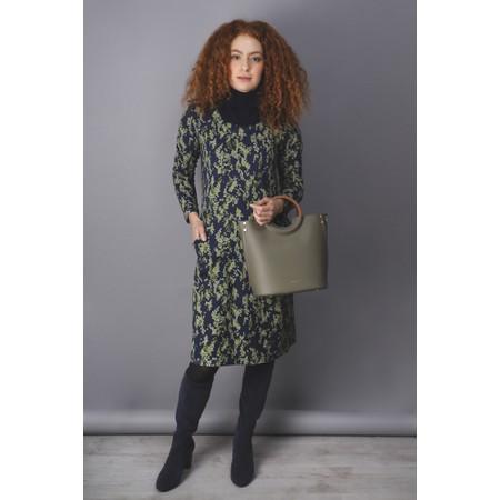 Adini Snowstorm Print Debbie Dress - Green