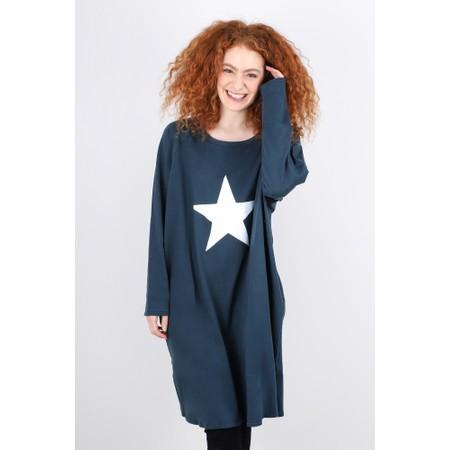 Chalk Brody Star Dress - Blue