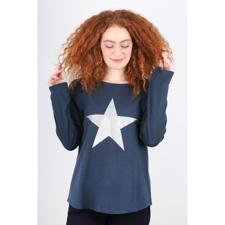 Chalk Tasha Star Top - Blue