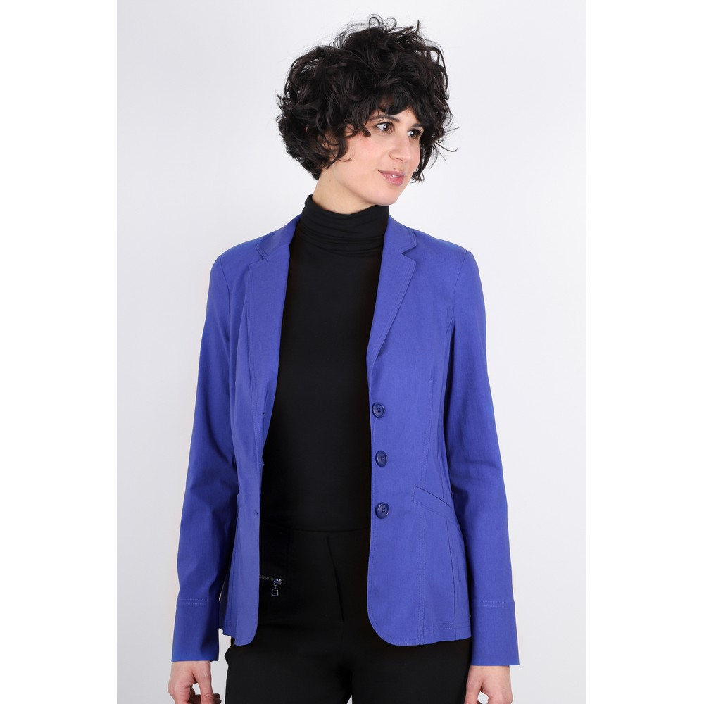 Robell Emilia Fitted Jacket Royal Blue 67