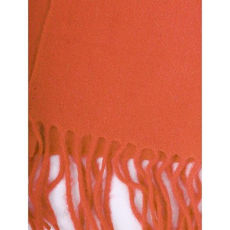 Gemini Label  Finola Pure Cashmere Scarf - Orange