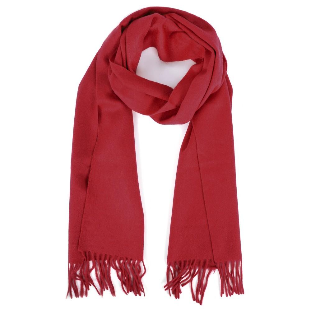 Gemini Label Accessories Finola Pure Cashmere Scarf Dark Red