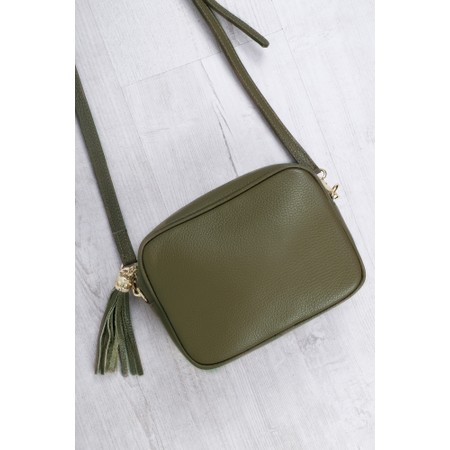 Gemini Label  Connie Cross Body Bag - Green