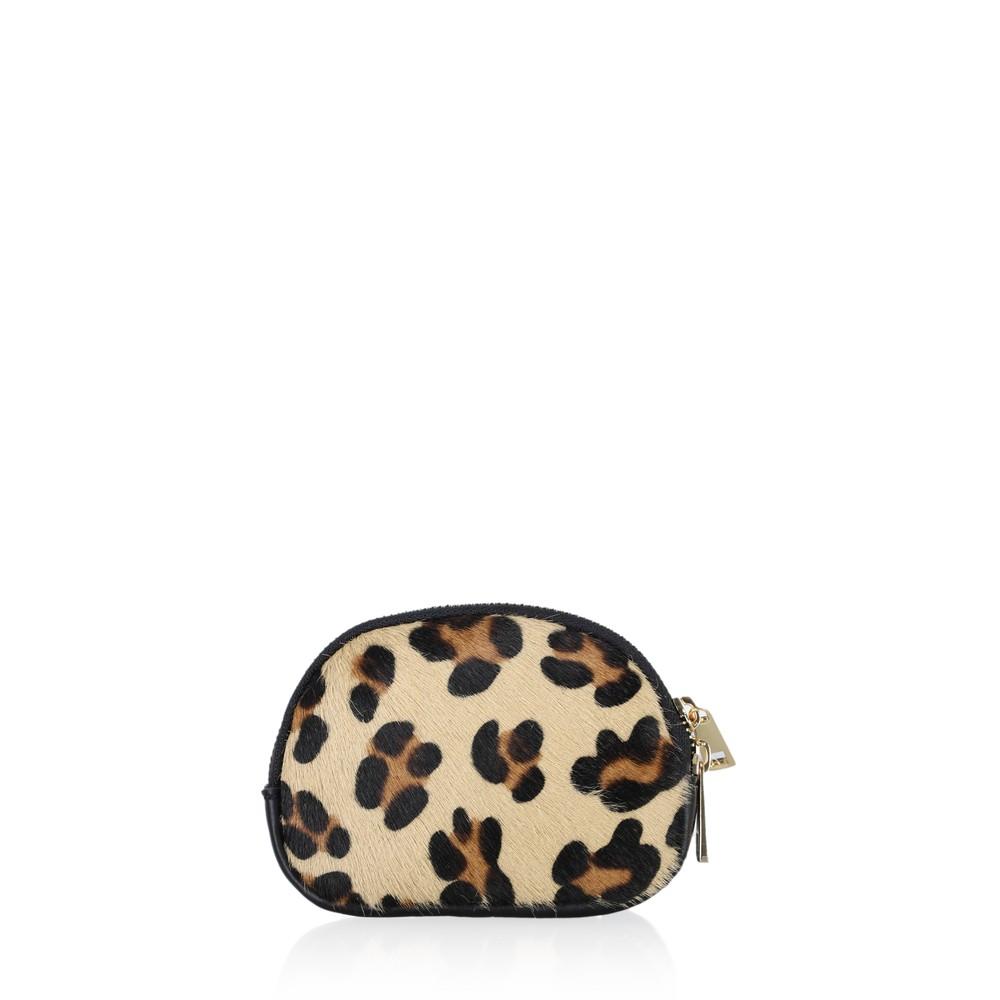 Gemini Label Accessories Jessie Animali Coin Purse Leopard