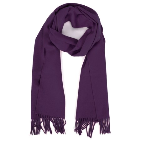 Gemini Label  Finola Pure Cashmere Scarf - Brown