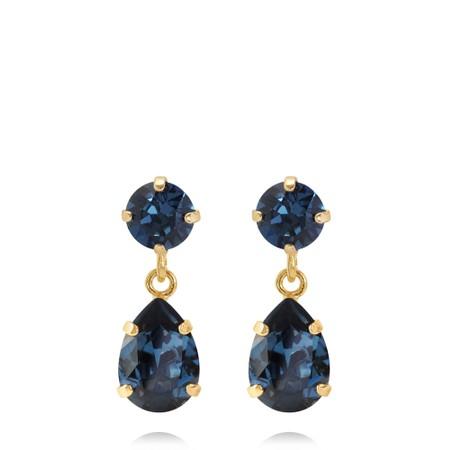 Caroline Svedbom Mini Drop Earring - Blue