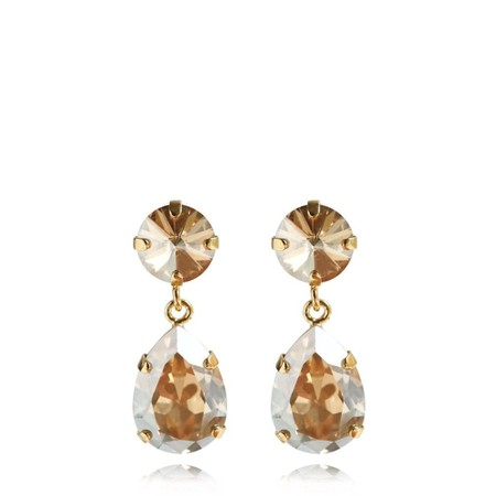 Caroline Svedbom Mini Drop Earring - Gold