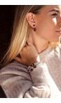 Caroline Svedbom Smoked Topaz / Gold Mini Drop Earring