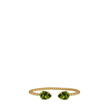 Caroline Svedbom Mini Drop Bracelet - Green