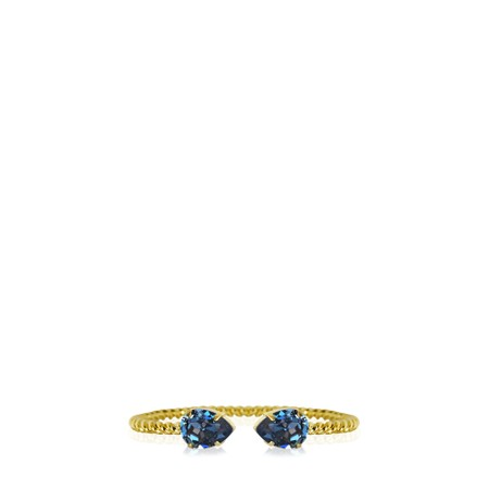 Caroline Svedbom Mini Drop Bracelet - Blue