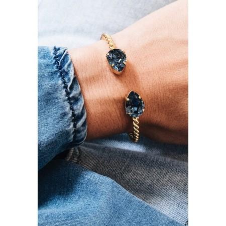 Caroline Svedbom Mini Drop Bracelet - Blue