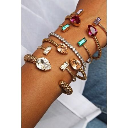 Caroline Svedbom Mini Drop Bracelet - Gold