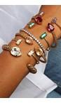 Caroline Svedbom Golden Shadow / Gold Mini Drop Bracelet