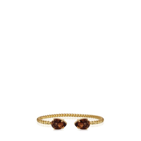 Caroline Svedbom Mini Drop Bracelet - Brown
