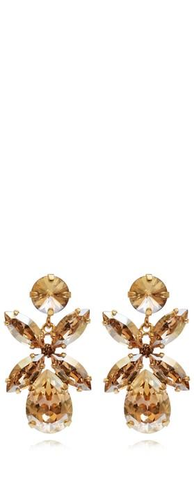 Caroline Svedbom Mini Dione Earring Golden Shadow / Gold