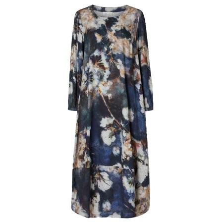 Sahara Japanese Blossom Print Dress - Multicoloured