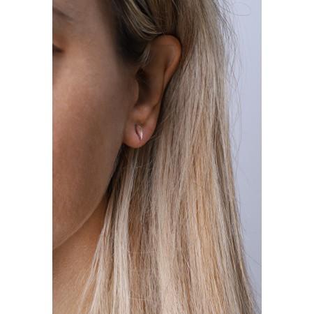 Ania Haie Semi Circle Earrings - Metallic