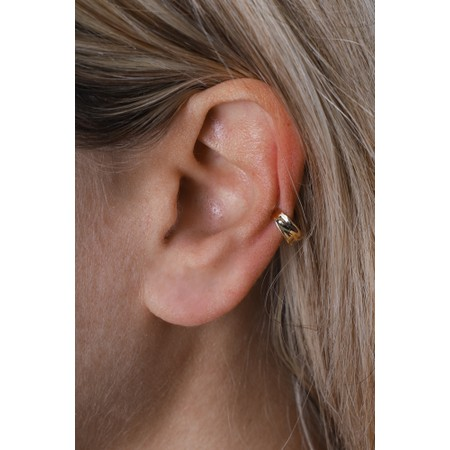 Ania Haie Crush Ear Cuff - Gold