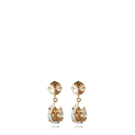 Caroline Svedbom Mini Drop Earring - Gold