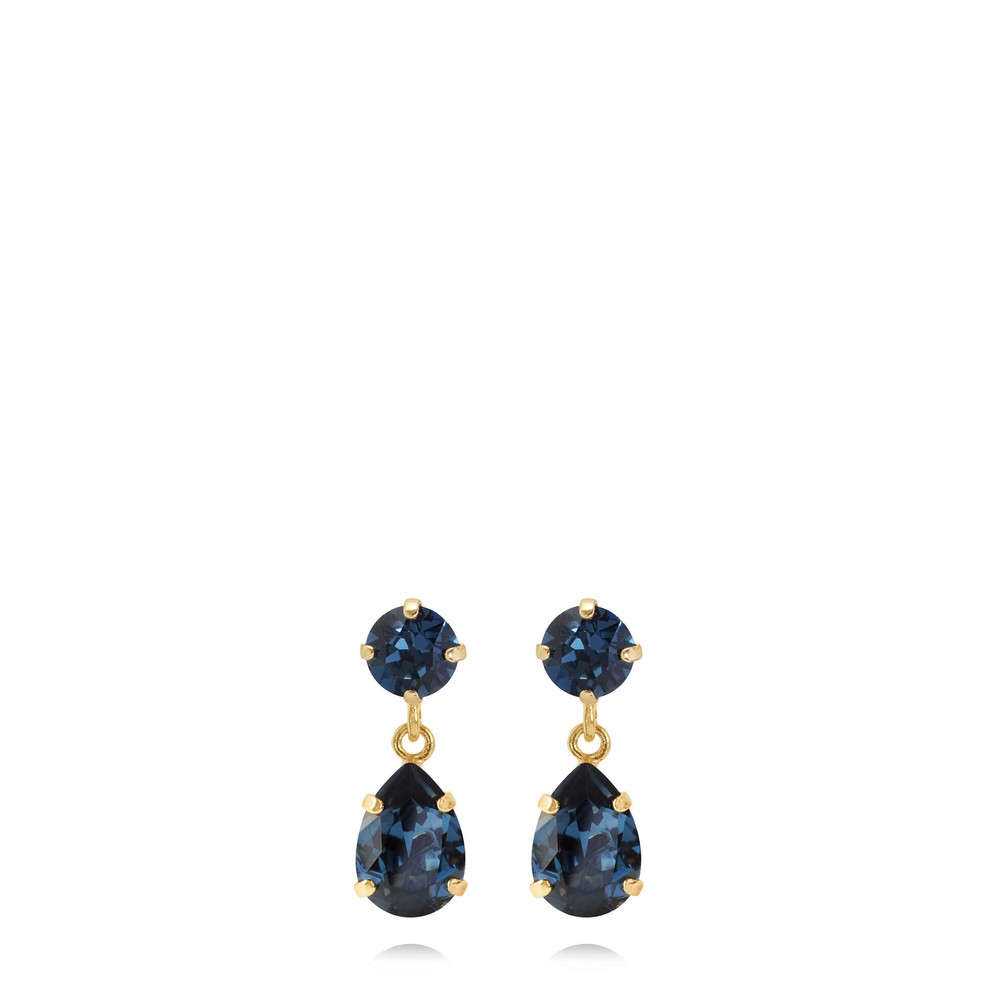 Caroline Svedbom Mini Drop Earring Montana / Gold