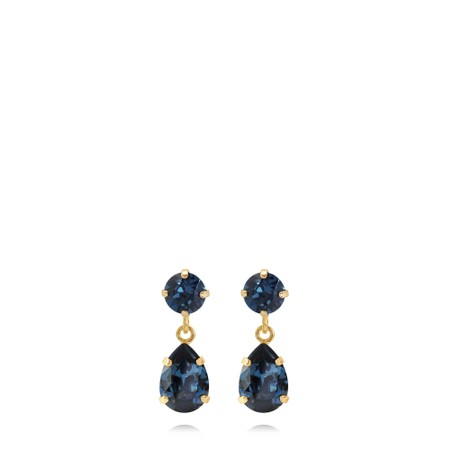 Caroline Svedbom Mini Drop Earring - Blue
