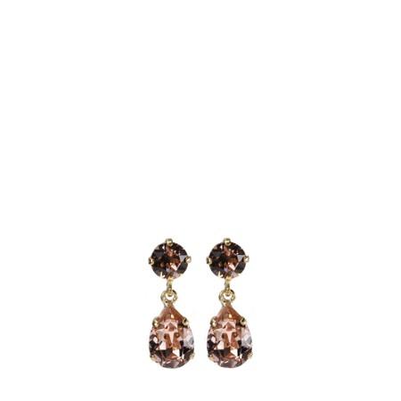 Caroline Svedbom Mini Drop Earring - Pink