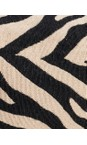 Hill & How Zebra Animal Print Make-Up Bag