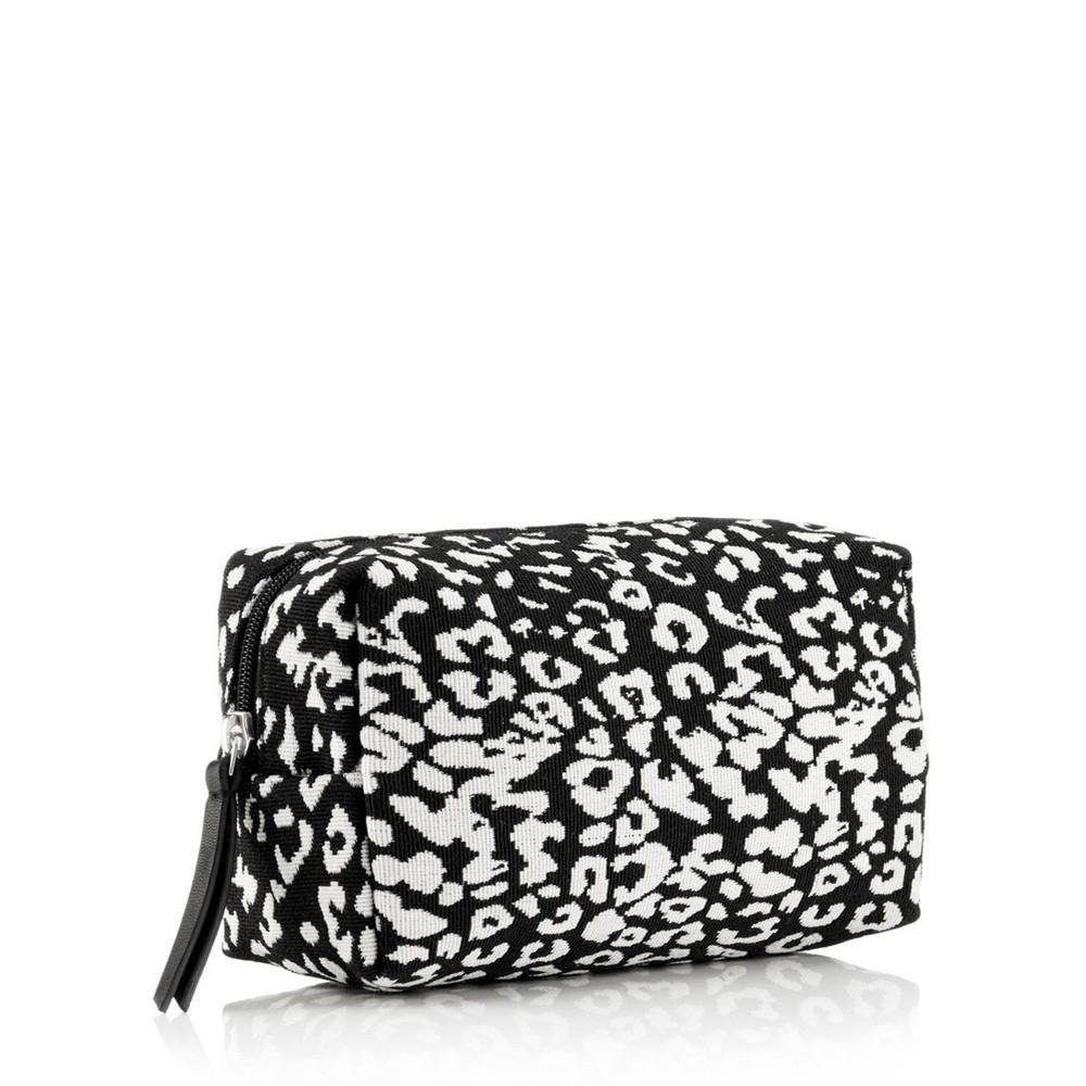 Hill & How Animal Print Make-Up Bag Leopard