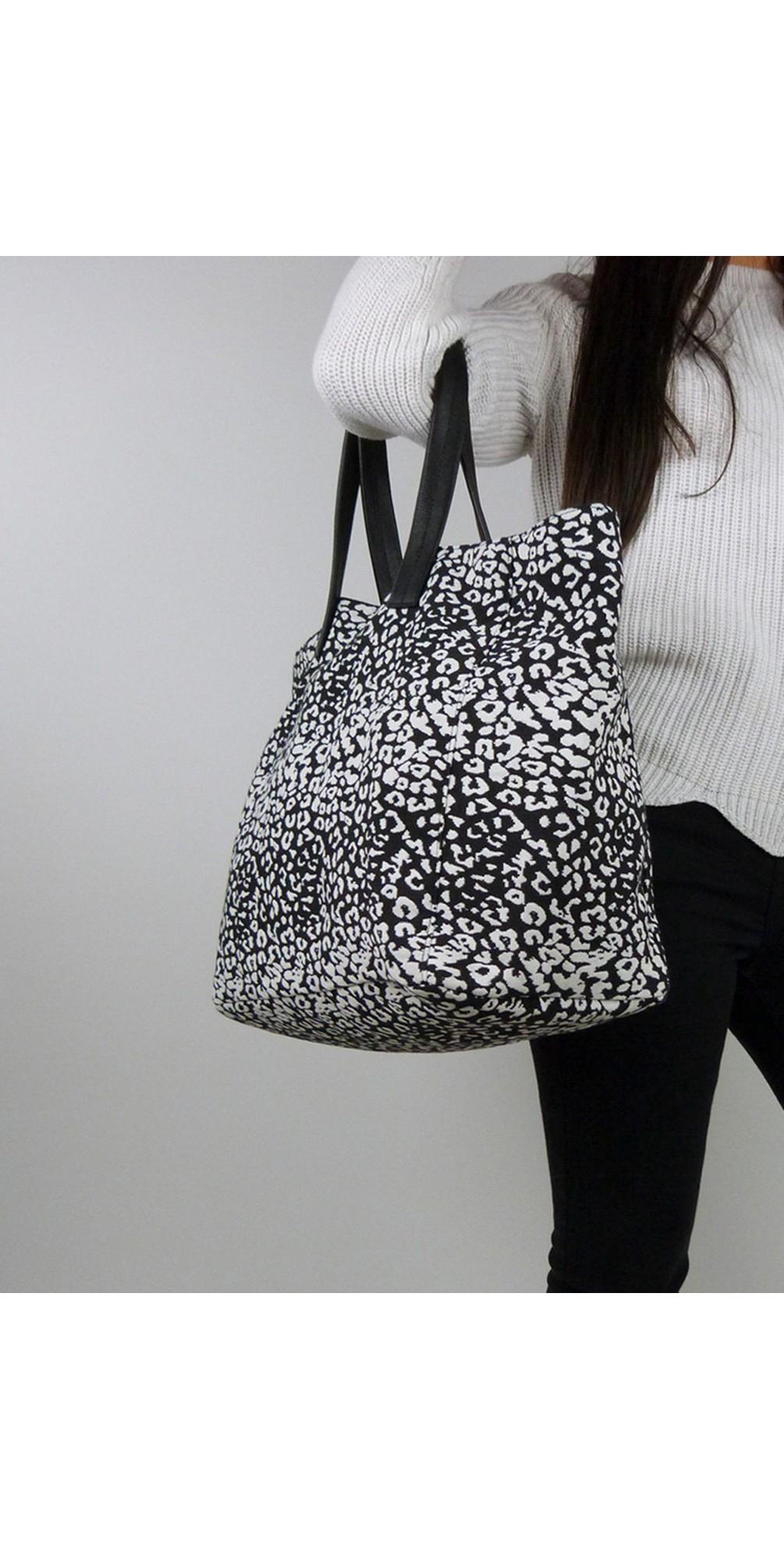 Fabric Animal Tote Bag main image