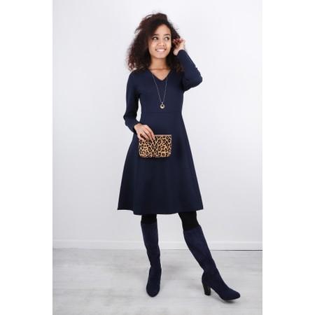 Sandwich Clothing Fit & Flare Jersey Dress - Blue