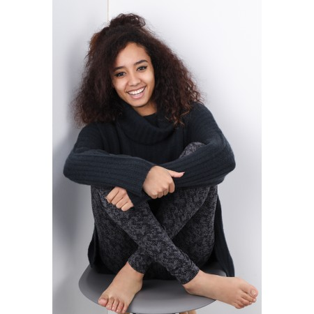 Sandwich Clothing Animal Print Leggings - Grey