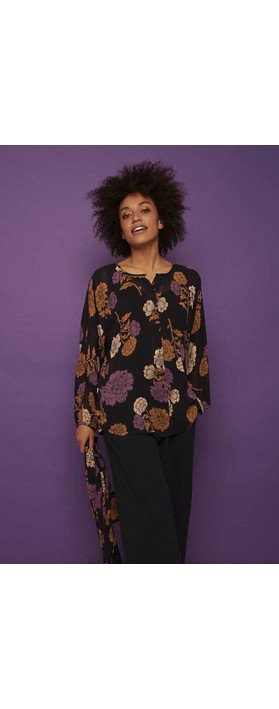 Masai Clothing Iria Blouse Violet