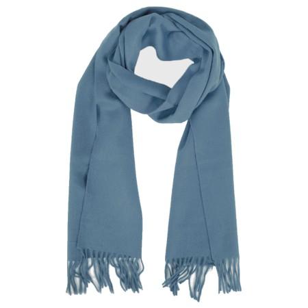 Gemini Label  Finola Pure Cashmere Scarf - Blue