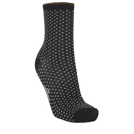 BeckSondergaard Dina Small Dots Socks - Black