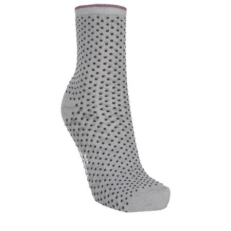 BeckSondergaard Dina Small Dots Socks - Grey